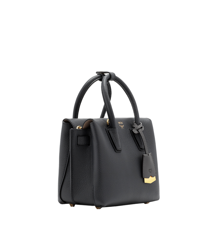 MCM Milla Tote in Grained Leather MWT6SMA05EP001 AlternateView2