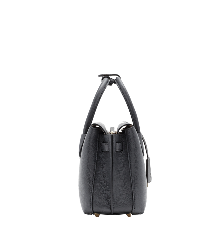 MCM Milla Tote in Grained Leather Alternate View 3