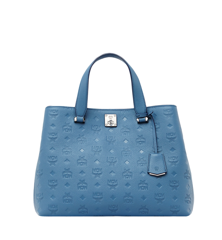 MCM Essential Tote in Monogram Leather MWT8ASE43HF001 AlternateView