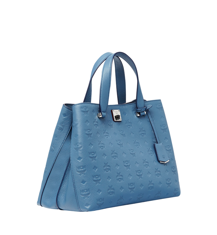 MCM Essential Tote in Monogram Leather MWT8ASE43HF001 AlternateView2