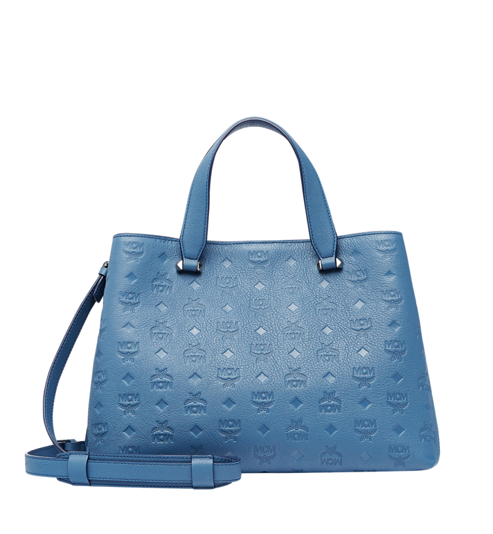 MCM Essential Tote in Monogram Leather MWT8ASE43HF001 AlternateView4