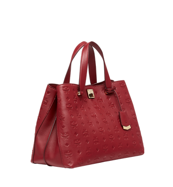 MCM Essential Tote in Monogram Leather MWT8ASE43RY001 AlternateView2