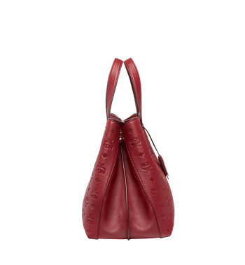 MCM Essential Tote in Monogram Leather MWT8ASE43RY001 AlternateView3