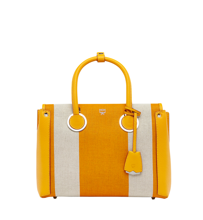 2bb41be38 Medium Neo Milla Tote in Canvas Exotic Yellow | MCM