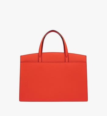MCM Milano Tote Bag in Calfskin Leather Alternate View 3