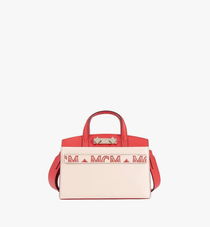 MCM Milano Tote Bag in Calfskin Leather Alternate View