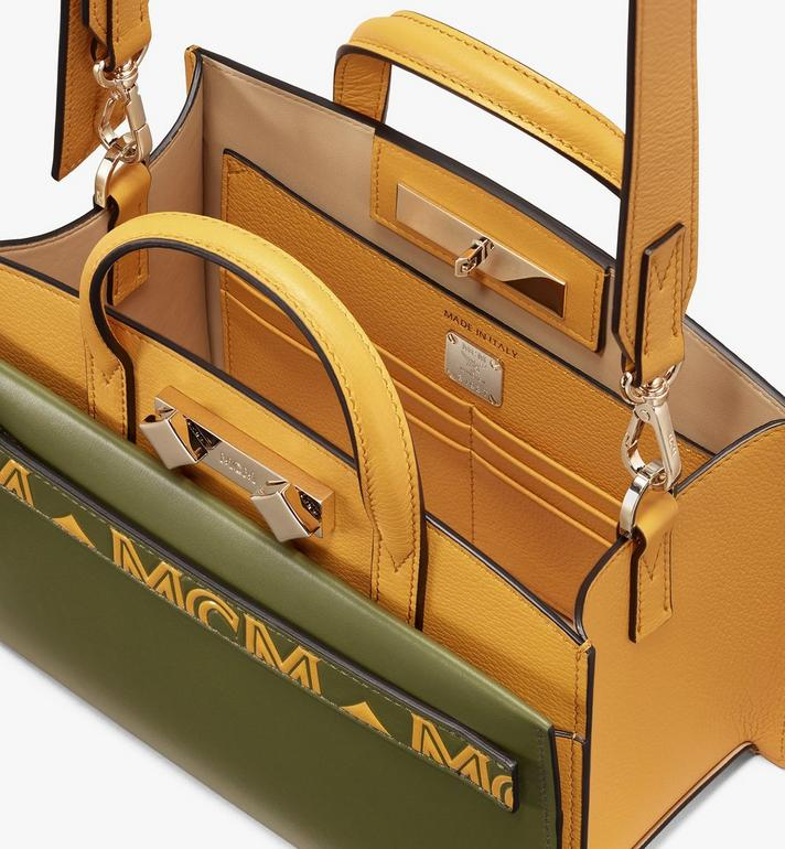 MCM Milano Tote Bag in Calfskin Leather Alternate View 4