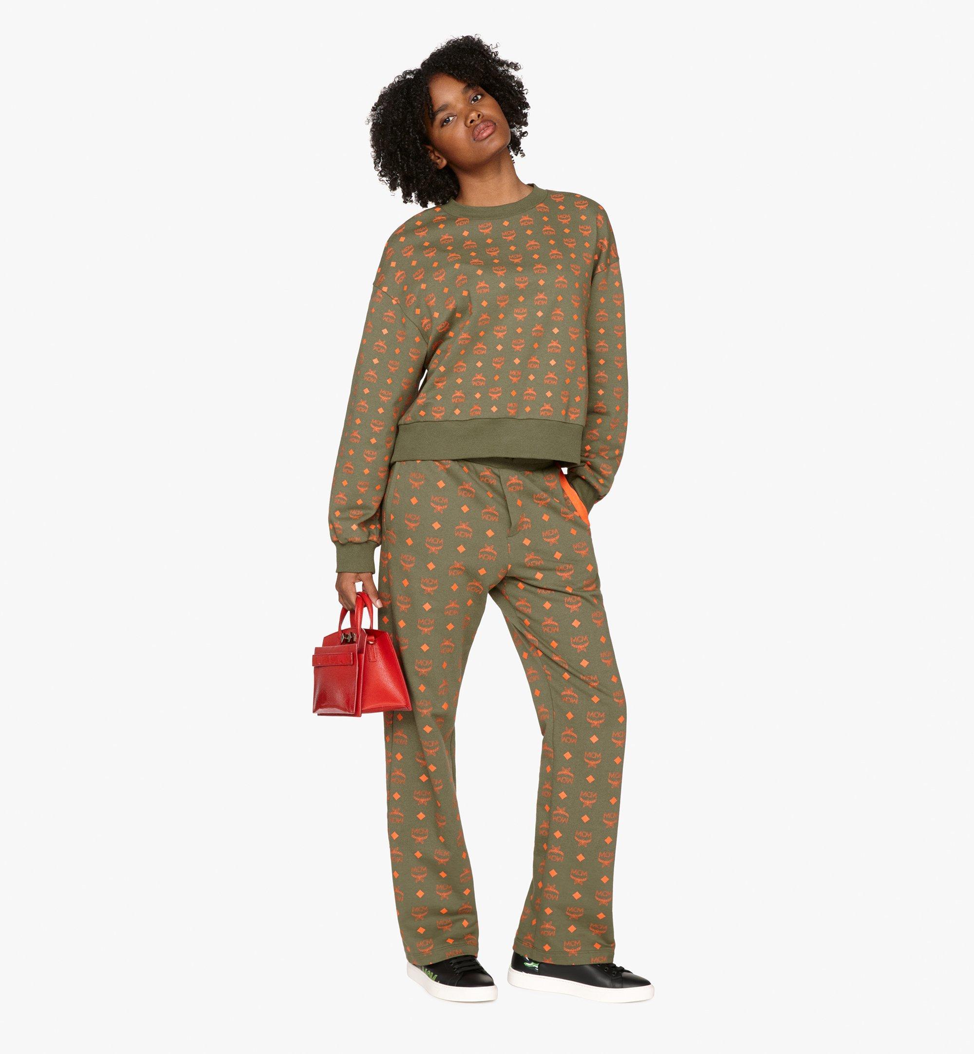 MCM Milano Tote Bag in Patent Goatskin Leather Red MWT9ADA18RU001 Alternate View 6