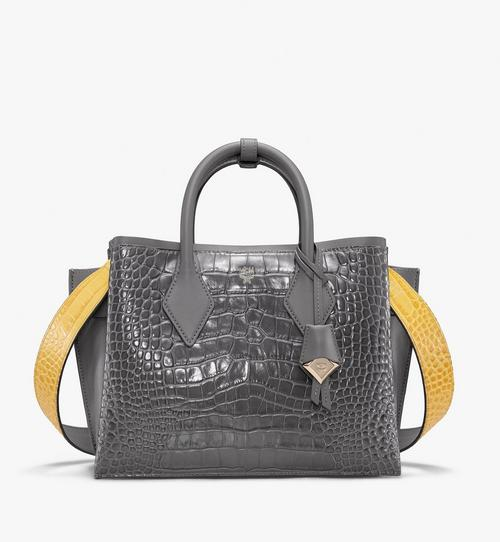 Neo Milla Tote in Embossed Crocodile