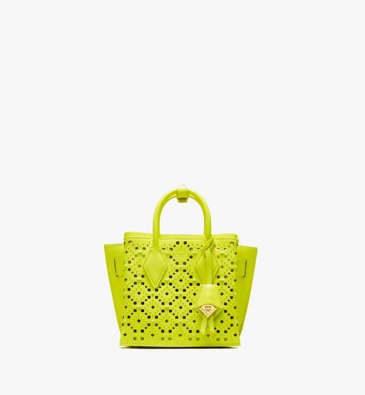 MCM Neo Milla Tote in Perforated Leather Alternate View