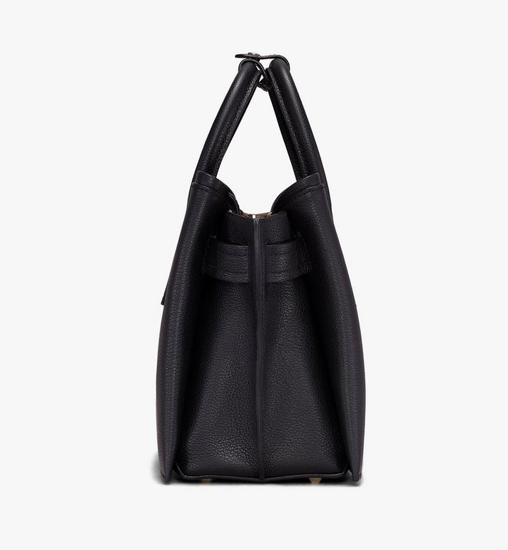 MCM Neo Milla Tote in Park Ave Leather Black MWT9AMA96BK001 Alternate View 2