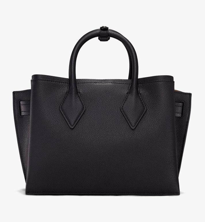 MCM Neo Milla Tote in Park Ave Leather Black MWT9AMA96BK001 Alternate View 3