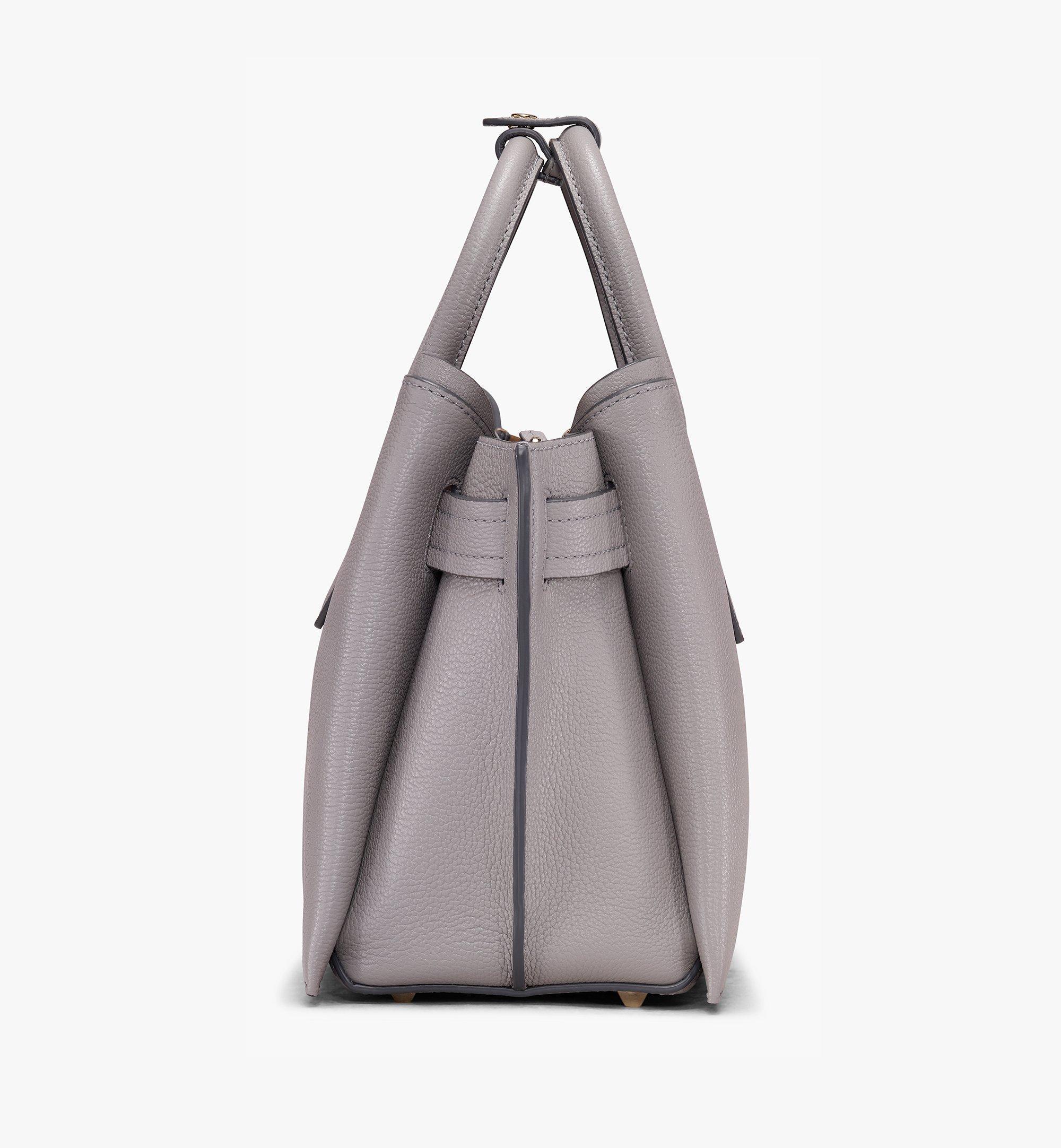 Medium Neo Milla Tragetasche aus Park Avenue Leder Arch Grey