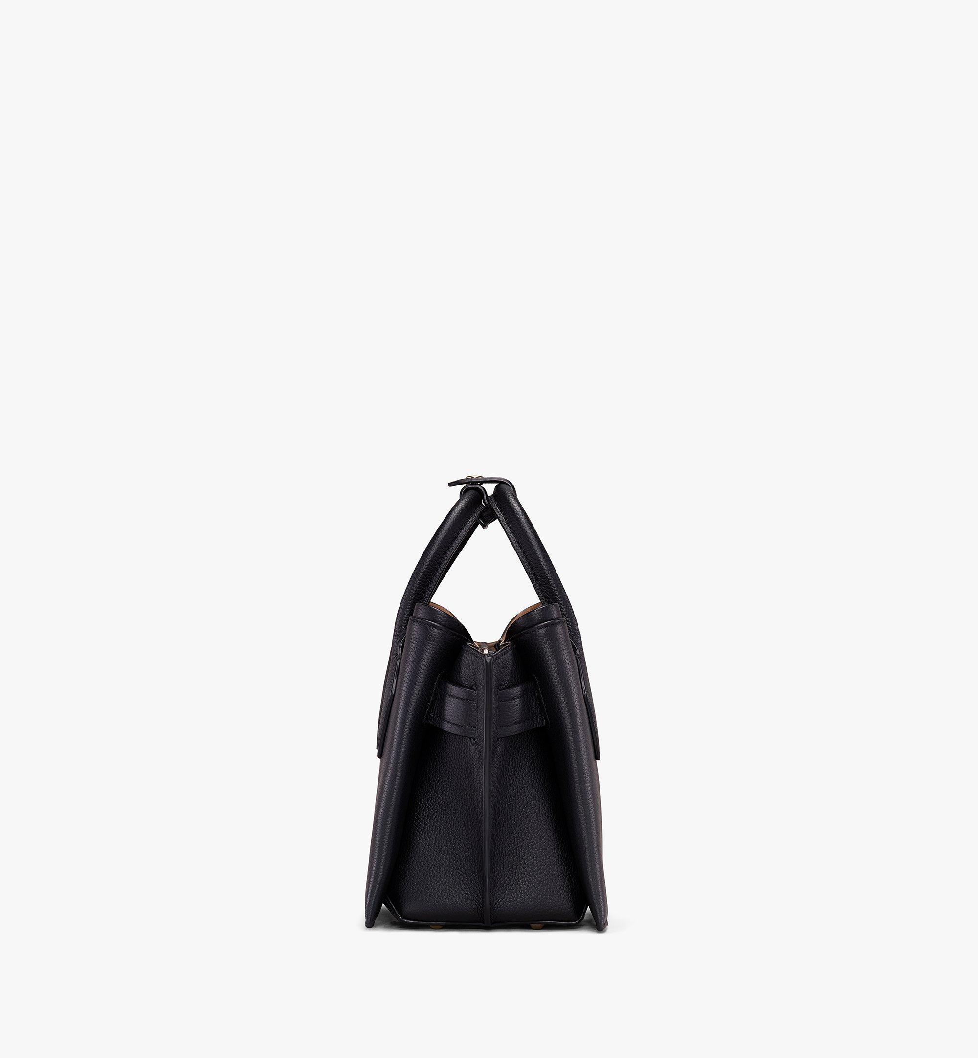 Mini Neo Milla Mini Tragetasche aus Park Avenue Leder Black