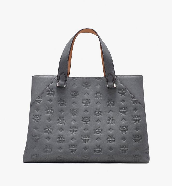 MCM Essential Tote Bag in Monogram Leather Alternate View 3