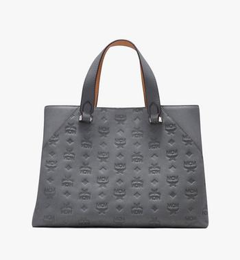 MCM Essential Tote Bag in Monogram Leather Alternate View 3