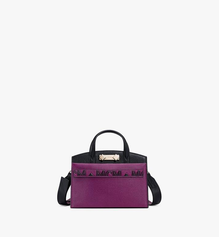MCM Milano Tote in Color Block Goatskin Leather Alternate View