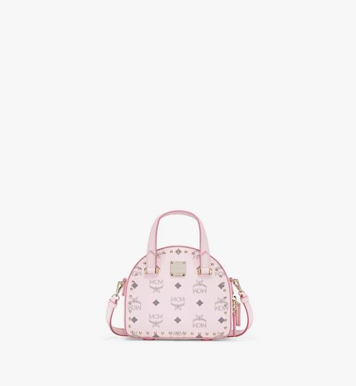 Essential Half Moon Tote in Studded Outline Visetos