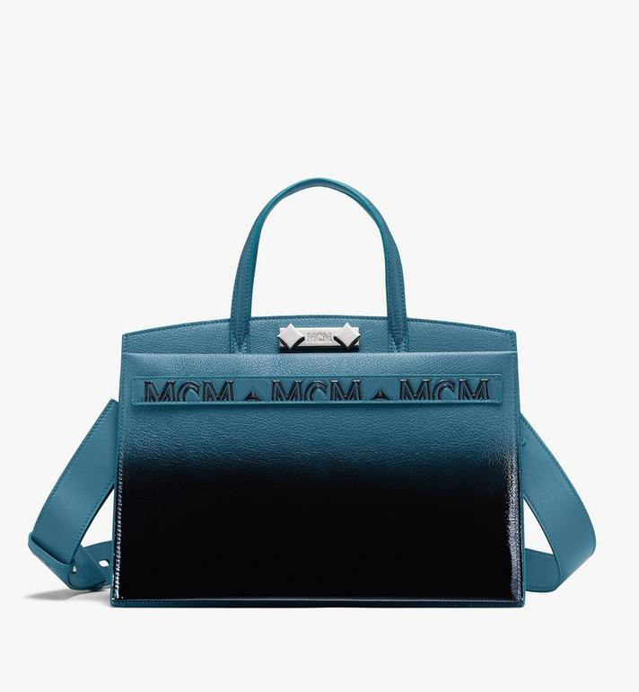 MCM Milano Tote in Patent Leather Gradient Alternate View