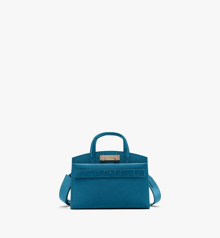 MCM Milano Tote Bag in Goatskin Leather Alternate View