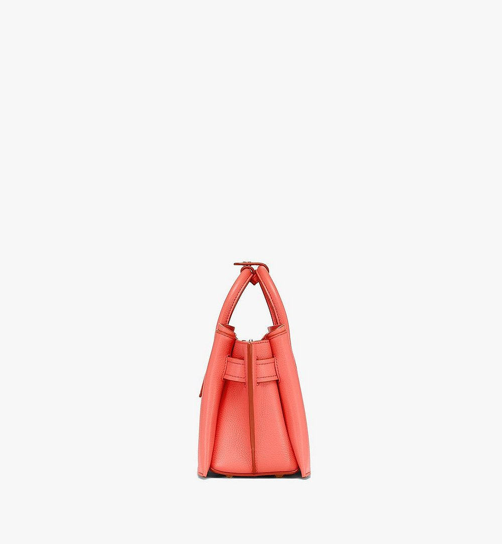 MCM Neo Milla Tote in Park Avenue Leather Red MWTASMA04O3001 Alternate View 1