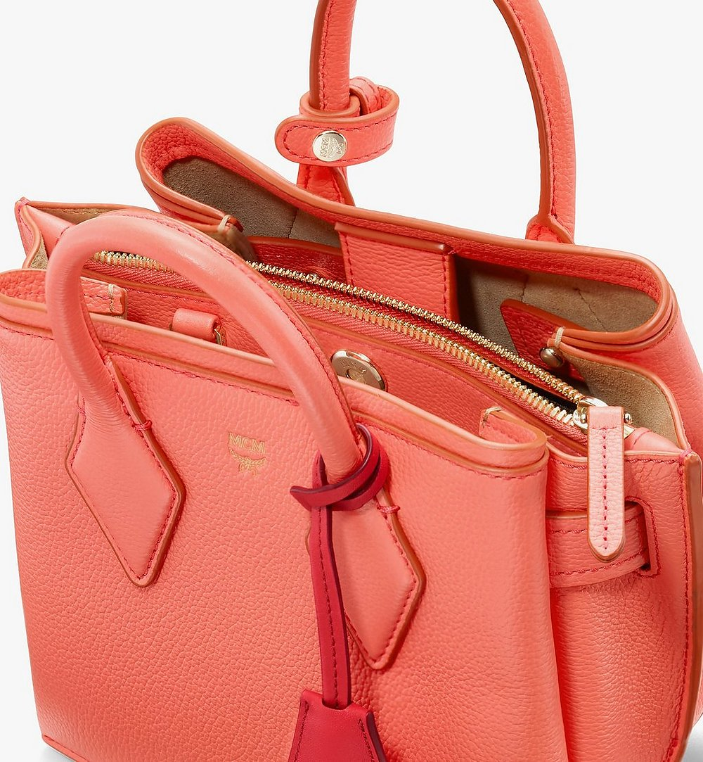 MCM Neo Milla Tote in Park Avenue Leather Red MWTASMA04O3001 Alternate View 3