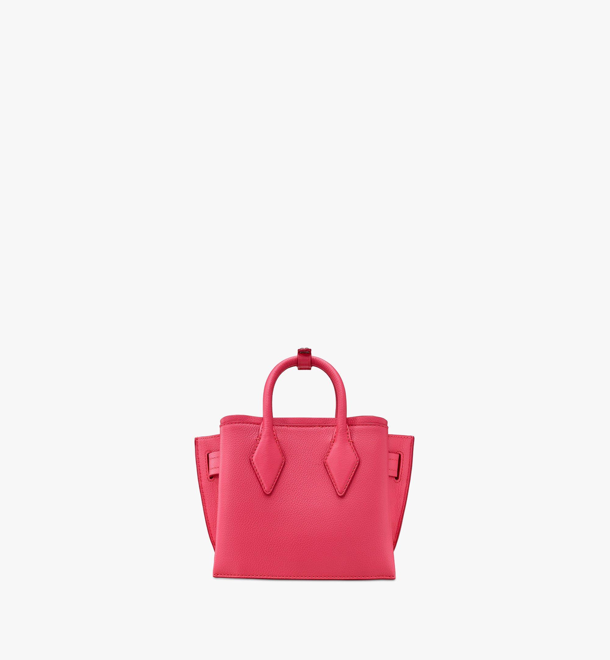 MCM Park Avenue 皮革迷你 Milla 托特包 Pink MWTASMA04QE001 更多視圖 2