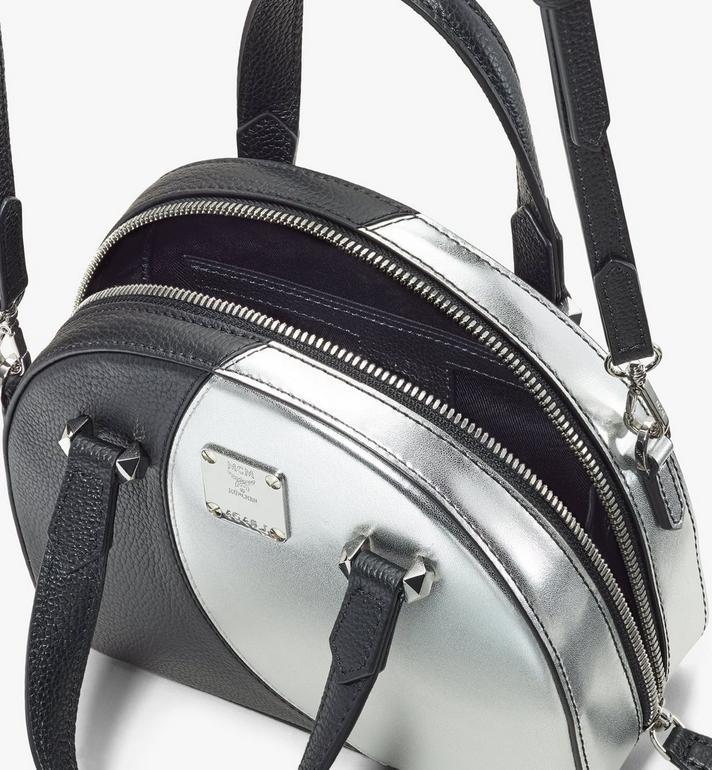MCM Essential Half Moon Disco Tote Bag Black MWTASSE01BK001 Alternate View 4