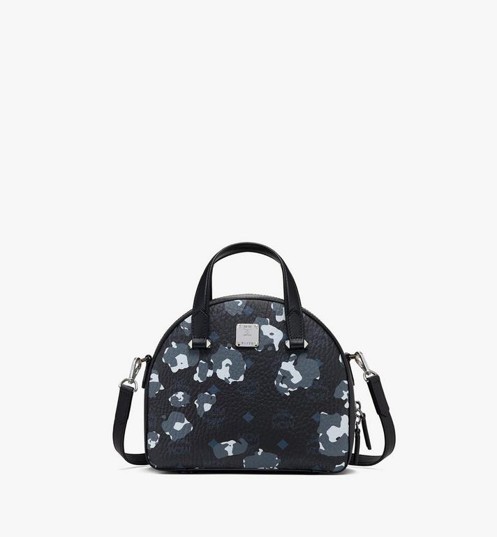 MCM Essential Tote in Floral Leopard Alternate View