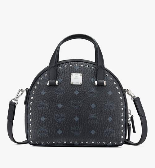 Essential Moon Half Tote in Studded Visetos