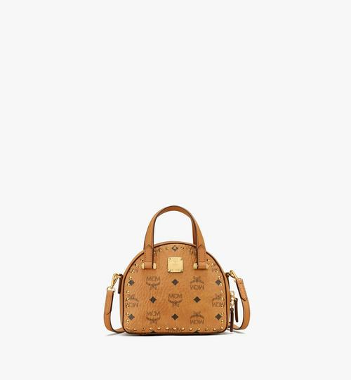 Essential Half Moon Tote in Studded Visetos