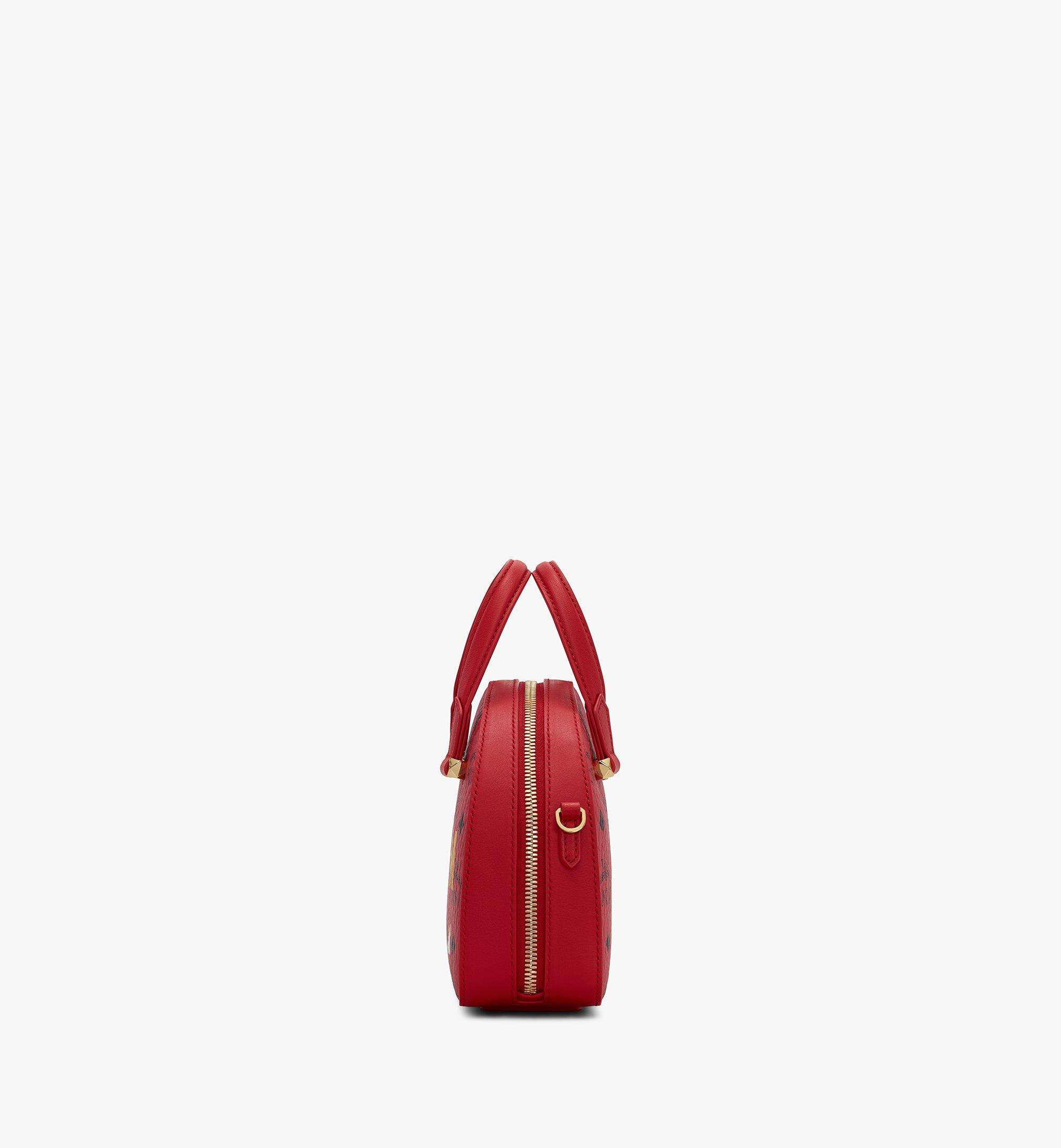 MCM Chinese New Year Essential Disco Tote Red MWTASSE09RJ001 Alternate View 2