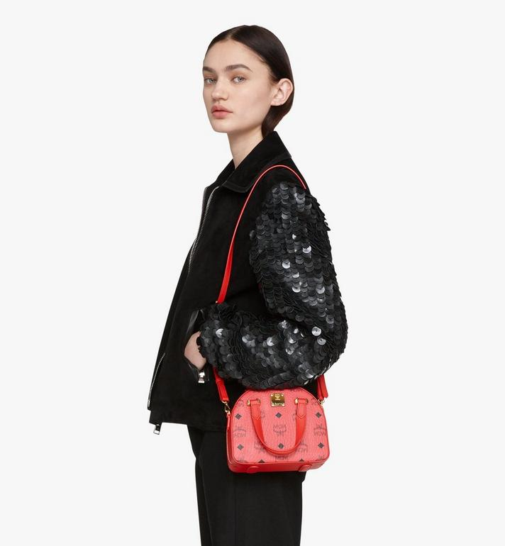 MCM Chinese New Year Essential Disco Tote Red MWTASSE09RJ001 Alternate View 6