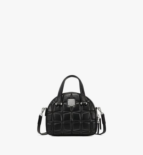 Essential Half Moon Tote in Diamond Leather