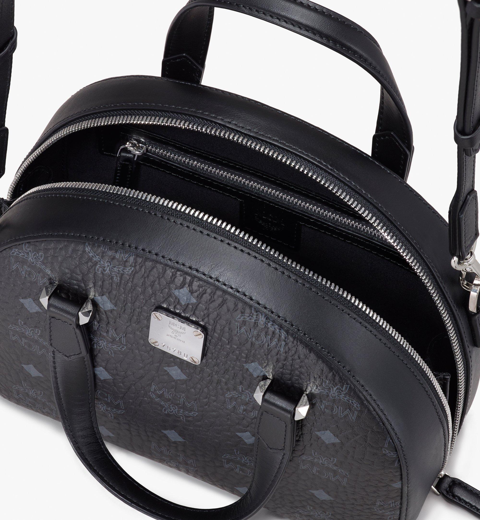 MCM 〈エッセンシャル〉ハーフムーン トートバッグ - ヴィセトス オリジナル Black MWTASSE19BK001 ほかの角度から見る 3