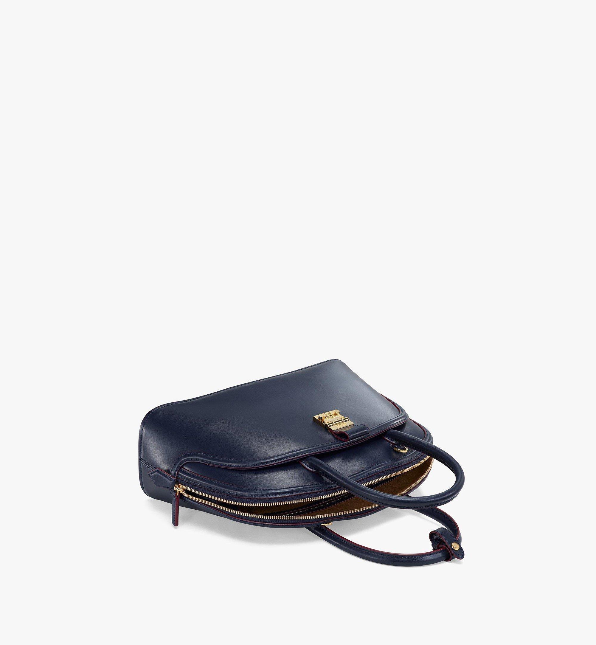 MCM AnnaTragetasche aus spanischem Leder Blue MWTBSNN03VZ001 Noch mehr sehen 2