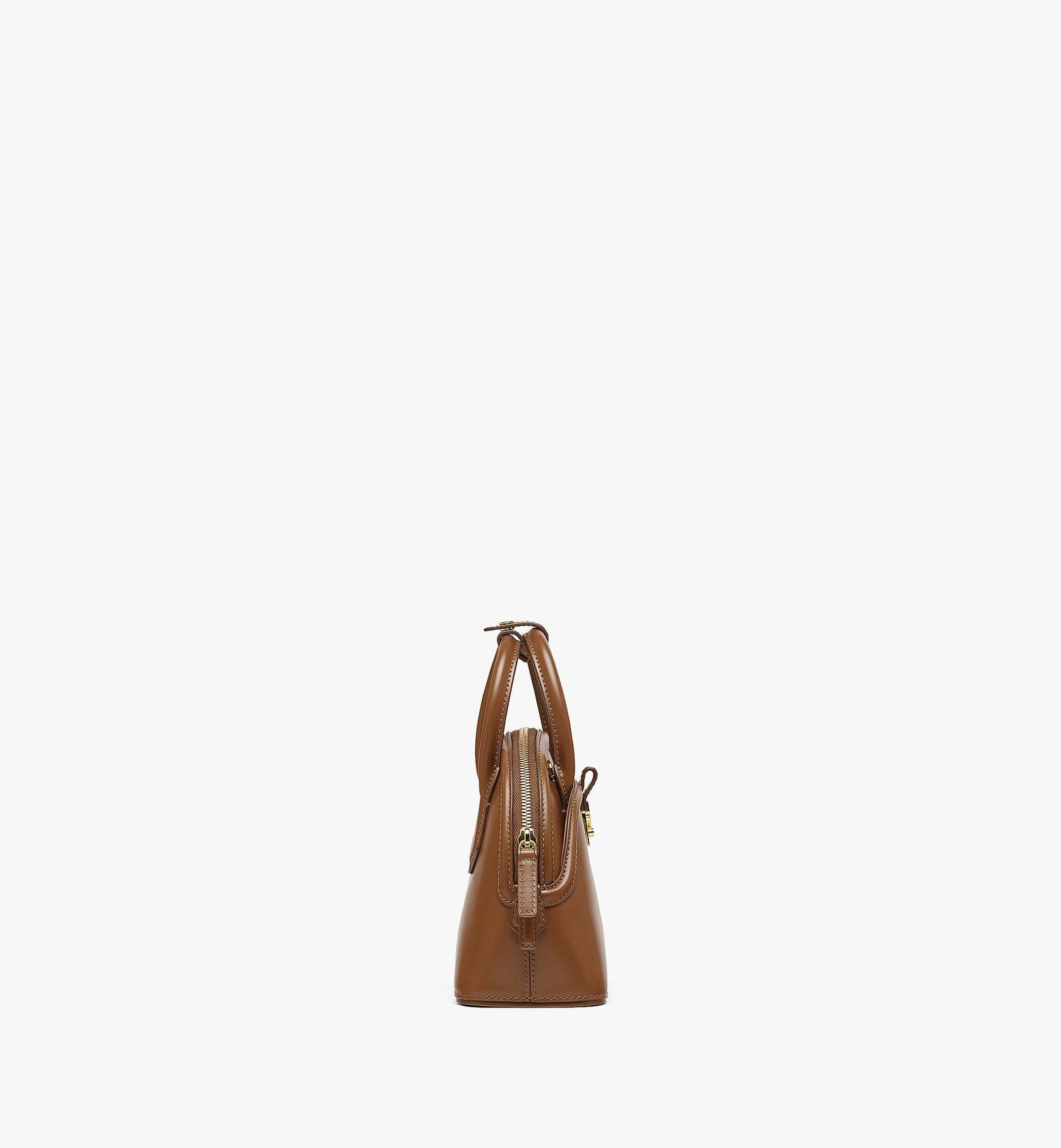 MCM Anna Tote in Spanish Leather Brown MWTBSNN04N7001 Alternate View 1