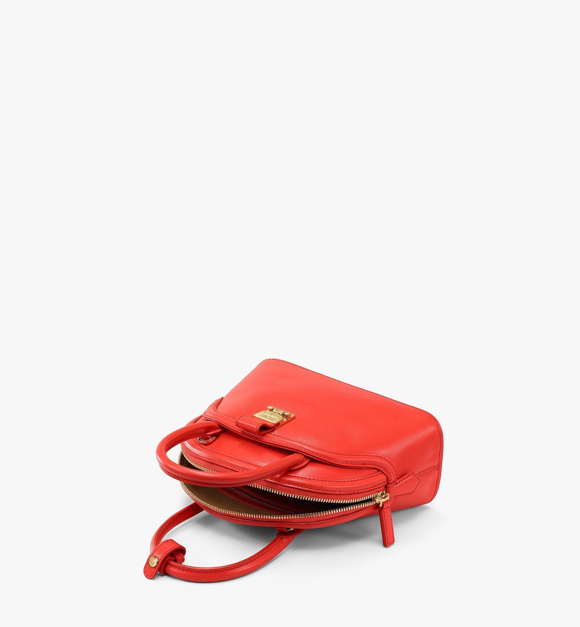 MCM AnnaTragetasche aus spanischem Leder Red MWTBSNN04R8001 Noch mehr sehen 2