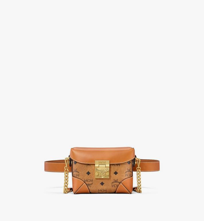 MCM Soft Berlin Belt Bag in Visetos Alternate View