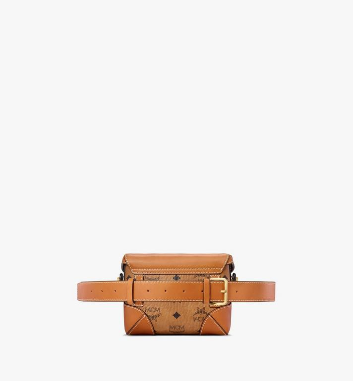 MCM Soft Berlin Belt Bag in Visetos  MWZ8ABF13CO001 Alternate View 4