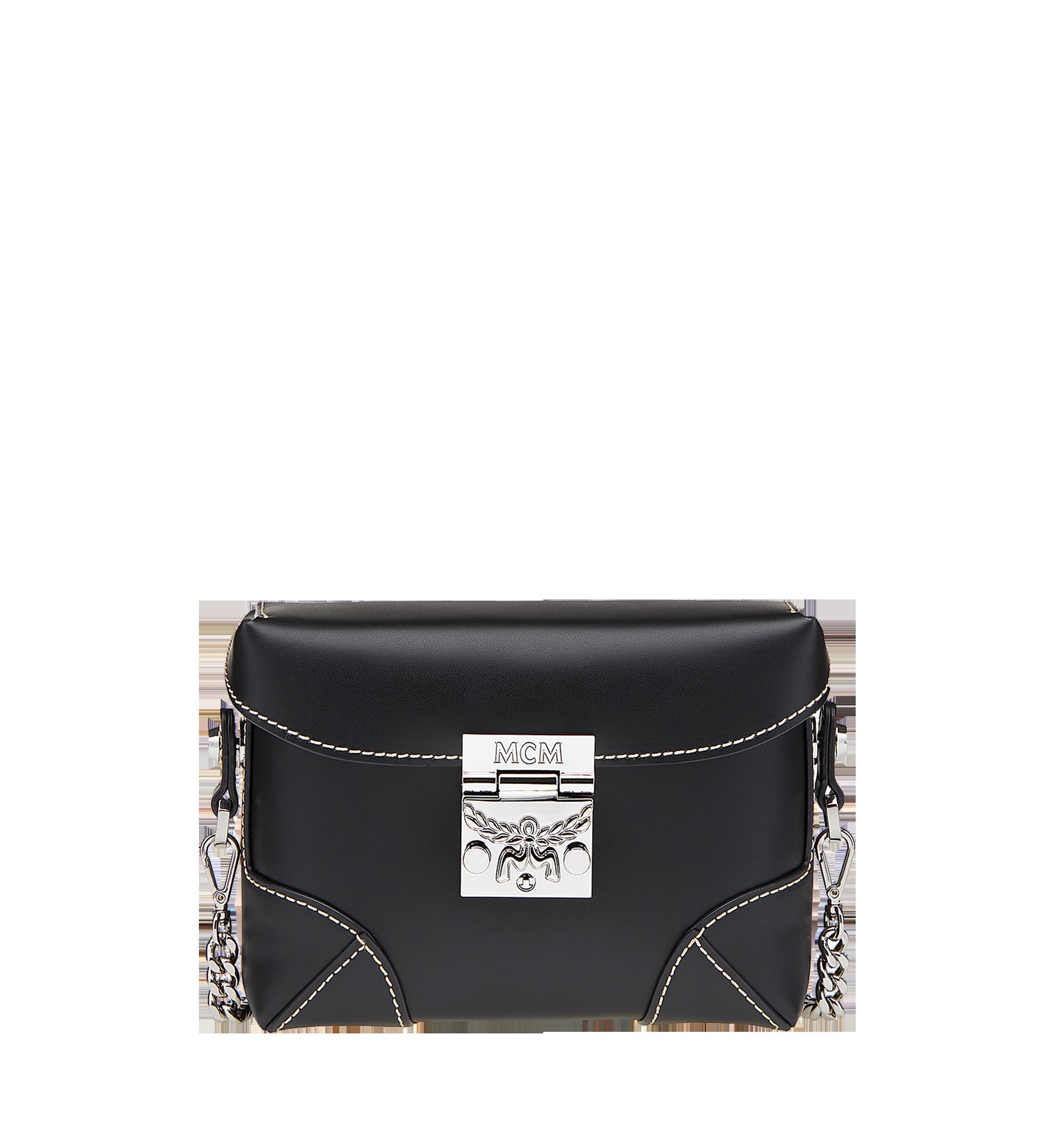 MCM Soft Berlin Belt Bag in Vachetta Leather Black MWZ8ABF23BK001 Alternate View 1