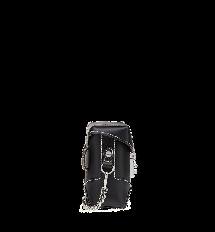 MCM Soft Berlin Belt Bag in Vachetta Leather MWZ8ABF23BK001 AlternateView3