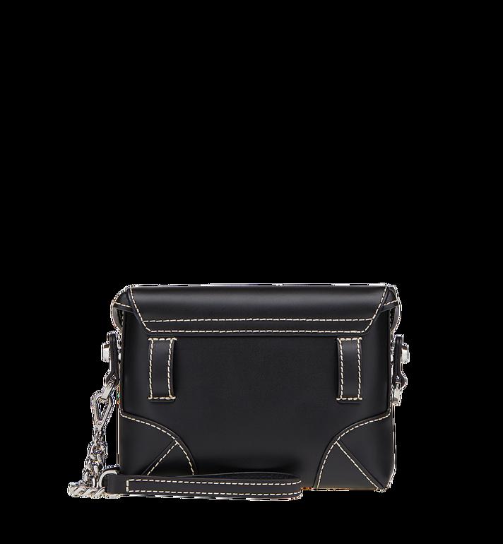 MCM Soft Berlin Belt Bag in Vachetta Leather  MWZ8ABF23BK001 Alternate View 4