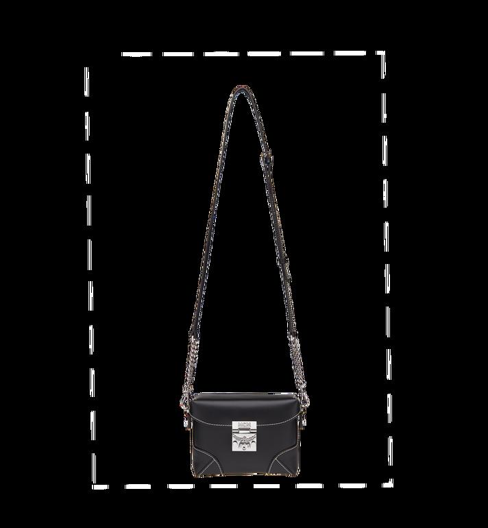 MCM Soft Berlin Belt Bag in Vachetta Leather Black MWZ8ABF23BK001 Alternate View 7