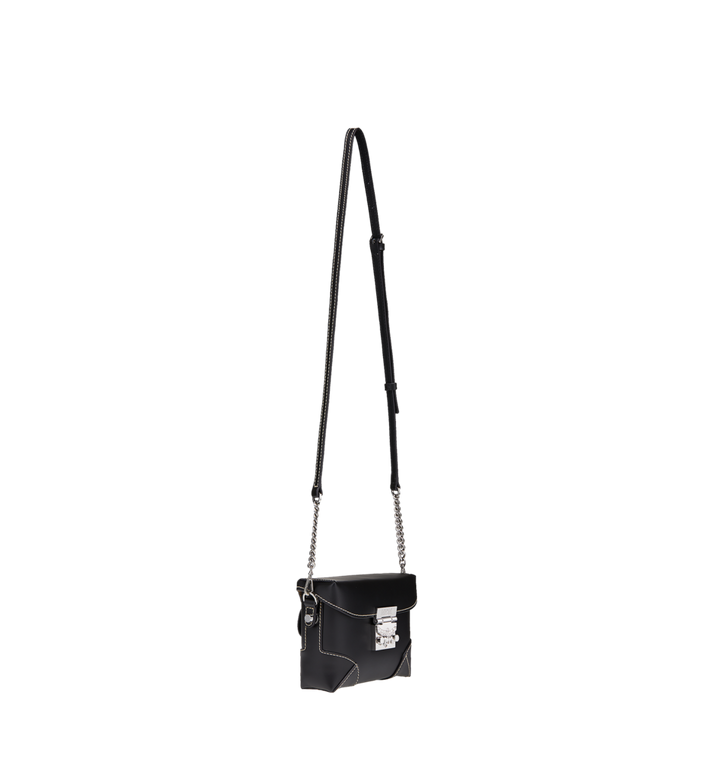 MCM Soft Berlin Belt Bag in Vachetta Leather Black MWZ8ABF23BK001 Alternate View 8