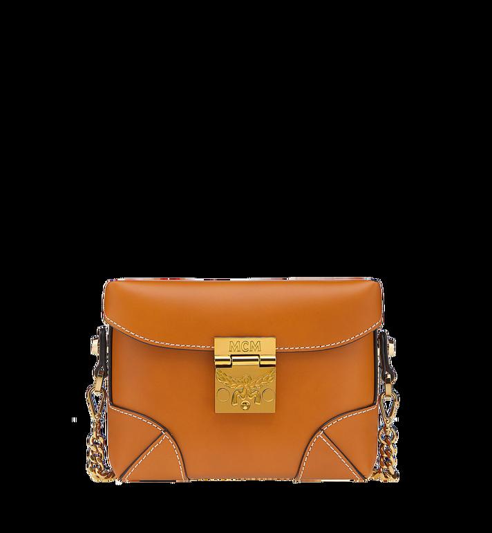 MCM Soft Berlin Belt Bag in Vachetta Leather MWZ8ABF23CO001 AlternateView