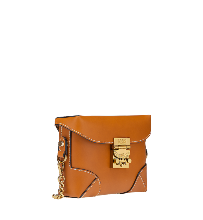 MCM Soft Berlin Belt Bag in Vachetta Leather MWZ8ABF23CO001 AlternateView2