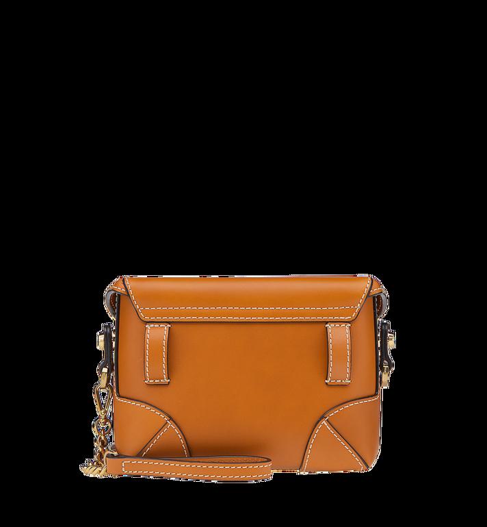 MCM Soft Berlin Belt Bag in Vachetta Leather MWZ8ABF23CO001 AlternateView4