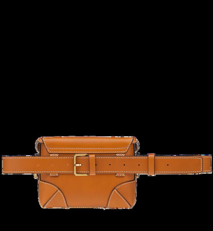 MCM Soft Berlin Belt Bag in Vachetta Leather MWZ8ABF23CO001 AlternateView5