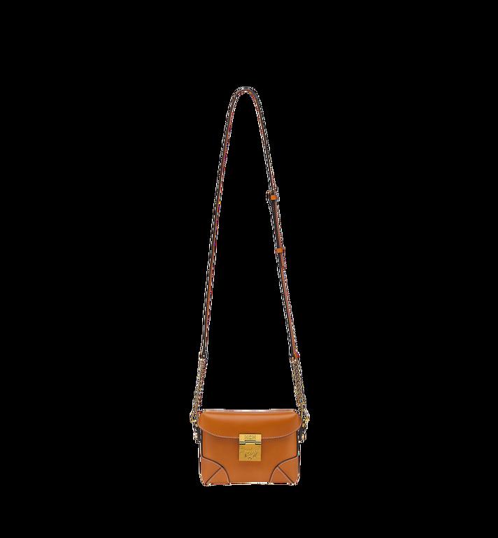 MCM Soft Berlin Belt Bag in Vachetta Leather MWZ8ABF23CO001 AlternateView7